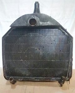 1906 Hupmobile radiator, 112 years old and was still repairable.