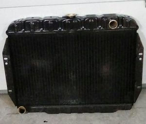1968 Jeep CJ5 radiator cleaned and repaired.